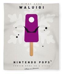 My Nintendo Ice Pop - Waluigi Fleece Blanket