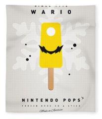 My Nintendo Ice Pop - Wario Fleece Blanket