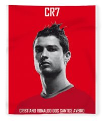 My Ronaldo Soccer Legend Poster Fleece Blanket