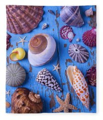 My Shell Collection Fleece Blanket