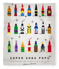 My Super Soda Pops No-00 Fleece Blanket