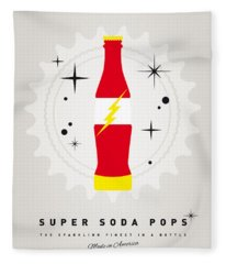 My Super Soda Pops No-18 Fleece Blanket