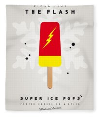 My Superhero Ice Pop - The Flash Fleece Blanket