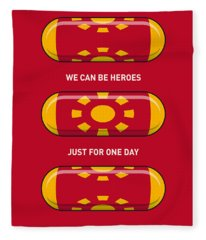 My Superhero Pills - Iron Man Fleece Blanket