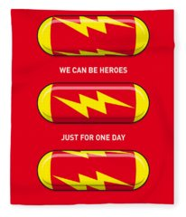 My Superhero Pills - The Flash Fleece Blanket