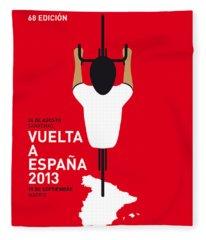 My Vuelta A Espana Minimal Poster - 2013 Fleece Blanket