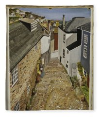 Myrtle Cottage View Fleece Blanket