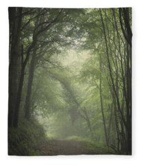 Mystery Awakens Fleece Blanket