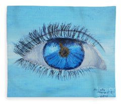 Mystic Eye Fleece Blanket