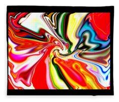 Mystic Orient Fleece Blanket
