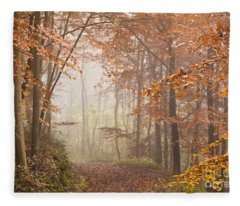 Mystic Woods Fleece Blanket