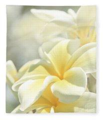 Na Lei Pua Melia Aloha E Ko Lele Fleece Blanket