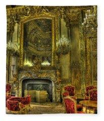 Napoleon IIi Room Fleece Blanket