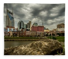 Nashville Tennessee Fleece Blanket
