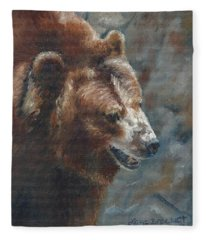 Nate - The Bear Fleece Blanket