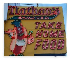 Nathan's Famous Fleece Blanket