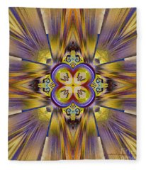 Native American Spirit Fleece Blanket