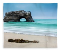 Natural Bridges Fleece Blanket