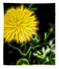 Natural Electric Beauty Fleece Blanket