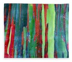Natural Tree Fleece Blanket