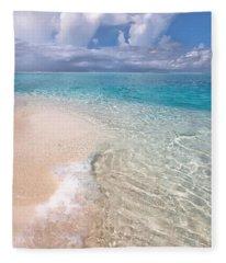 Natural Wonder. Maldives Fleece Blanket