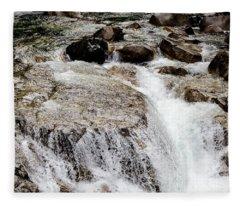Backroad Waterfall Fleece Blanket
