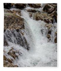 Naturally Pure Waterfall Fleece Blanket
