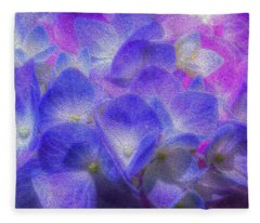 Nature's Art Fleece Blanket