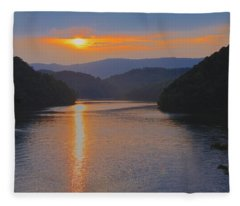 Natures Eyes Fleece Blanket