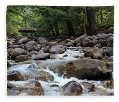 Nature's Flow  Fleece Blanket
