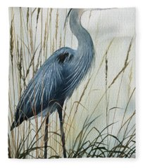 Natures Gentle Stillness Fleece Blanket