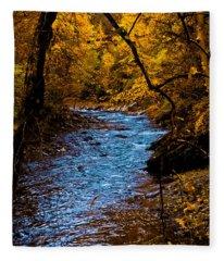 Natures Golden Secret Fleece Blanket