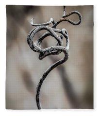 Natures Sculpture Fleece Blanket