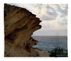 Nature's Sculptures Viii Fleece Blanket