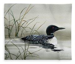 Nature's Serenity Fleece Blanket