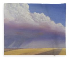 Nebraska Vista Fleece Blanket