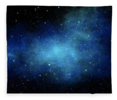 Nebula Mural Fleece Blanket
