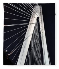New Mississippi River Bridge Fleece Blanket