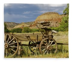 New Photographic Art Print For Sale Ghost Ranch New Mexico 13 Fleece Blanket