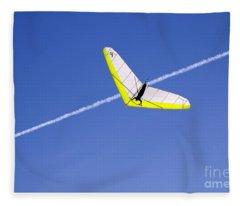 New Photographic Art Print For Sale Hanggliding 7 Fleece Blanket