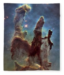 New Pillars Of Creation Hd Tall Fleece Blanket