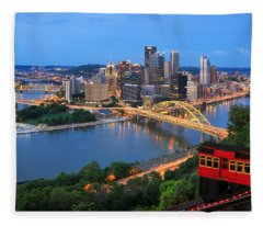 Pittsburgh Summer  Fleece Blanket