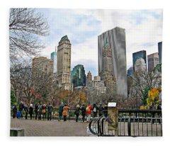 New York Series 01 Fleece Blanket