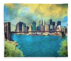New York City Fleece Blanket