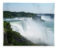 Niagara Falls Fleece Blanket