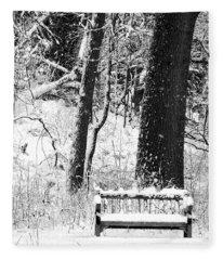 Nichols Arboretum Fleece Blanket