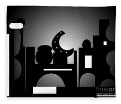 Night Bazaar Fleece Blanket