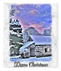 Christmas Card 27 Fleece Blanket