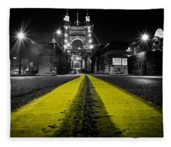 Night Bridge Fleece Blanket