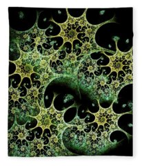 Night Lace Fleece Blanket
